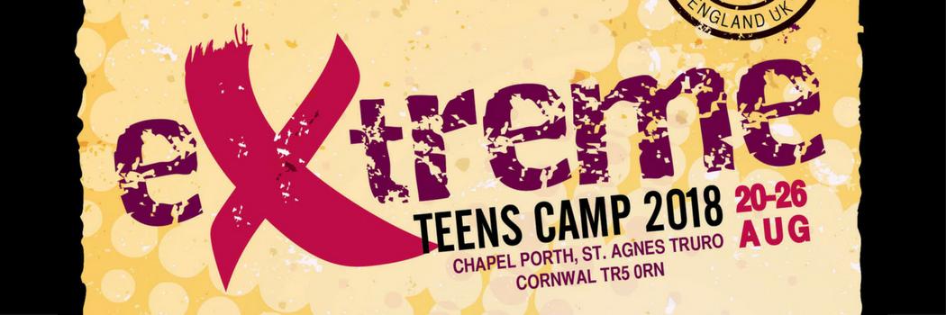 Extreme Teens Camp 2018